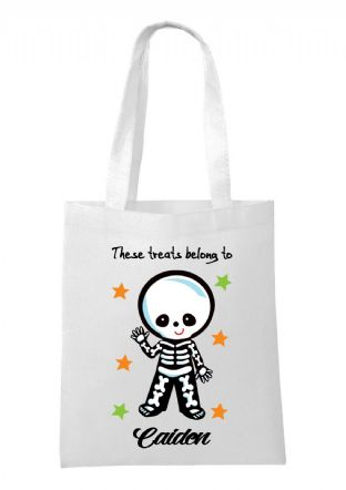 Halloween Skeleton Bag